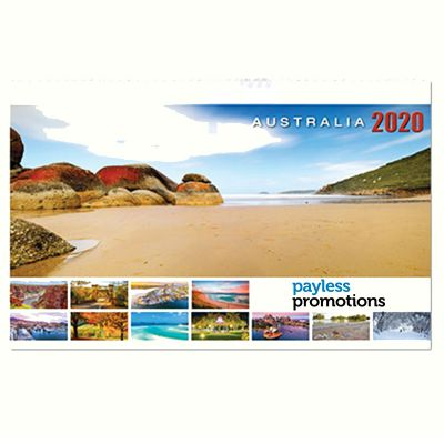 AD15 28 Pages Branded Desk Calendars - Scenic Beauty