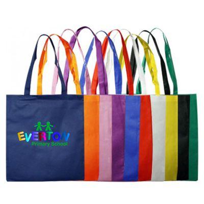 B07 Large Printed Shopping Bags - (38cm x 42cm)