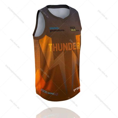 BS4-K Kids Full-Custom Sublimation Muscle-Cut Basketball Shirts - X Series Elite