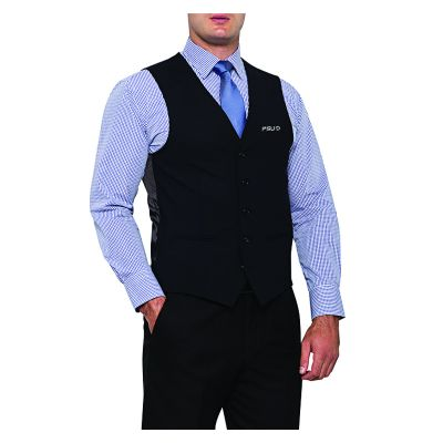 BVCV08 Van Heusen Classic Wool Blend Embroidered Corporate Vests