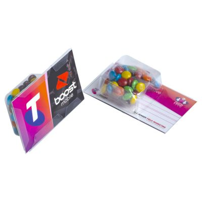 CC001DS Mini M&Ms Promo Business Card Confectionery - 14g