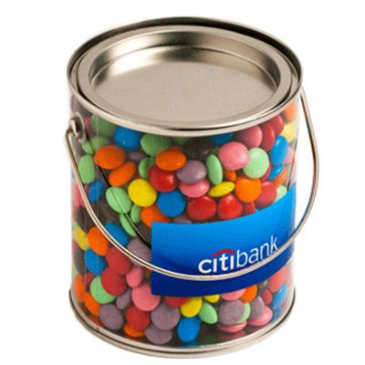 CC005B2 Smarties Look-Alike (Corporate Colours) Filled Big Branded Buckets - 875g