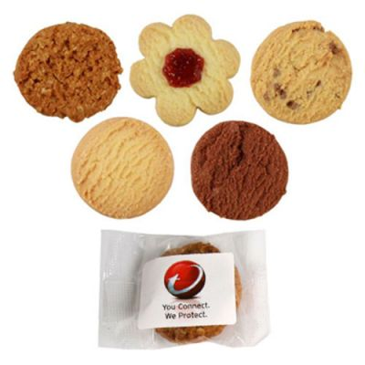CC051A Logo Individually Wrapped Butter Biscuit - 15g Each