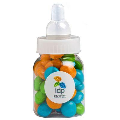 CC065E Skittles Look-Alike Filled Branded Baby Bottles - 50g