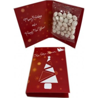 CC083C25 Mint Filled Promo Lolly Bags With Gift Card - 25g
