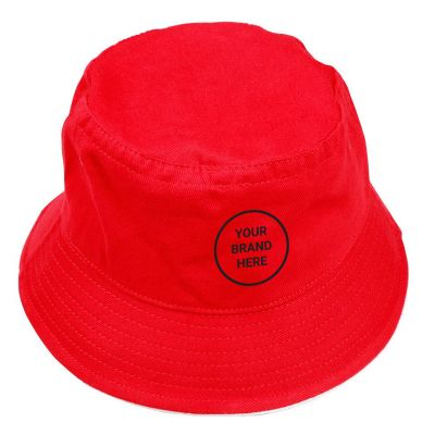 CH31 Soft Washed Promo Bucket Hats With Contrast Trim