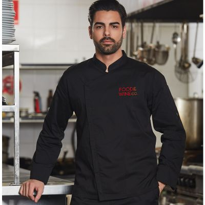 CJ03 Functional TrueDry Cafe Chefs Jackets With Stretch