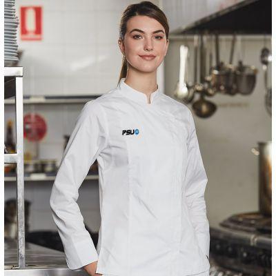 CJ04 Ladies Functional TrueDry Custom Chefs Jackets With Stretch
