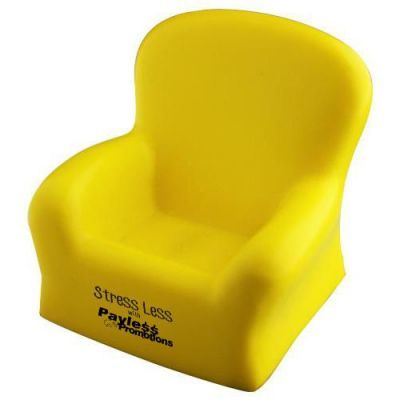 S97 Chair Yellow Promotional Household Stress Shapes