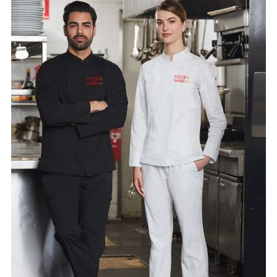CP04 Ladies Funtional Cafe Chefs Pants With Stretch