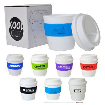 D326 235ml Plastic Kool Printed Carry Cups