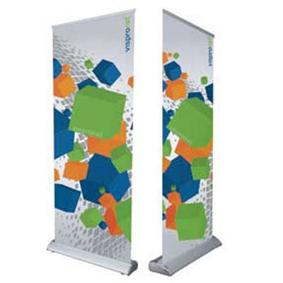 DPB 0.85m x 2m Double Sided Business Pull Up Banners