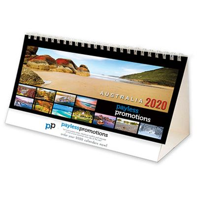 DTAD 13 Pages Branded Desk Calendars - Australia Discovery