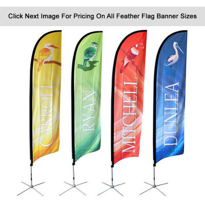 FBA Feather Flag With Cross Base And Waterbag