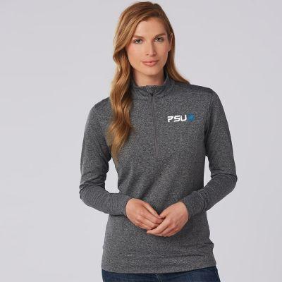 FL26 Ladies Long Sleeve Half Zip Sweaters