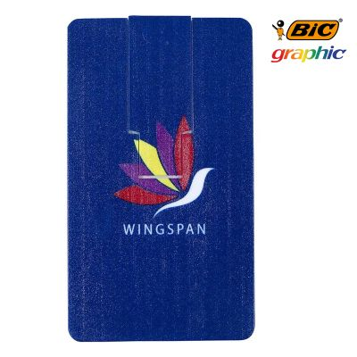 G31584 Bic Flip Card 8GB Custom Memory Sticks - On Clearance