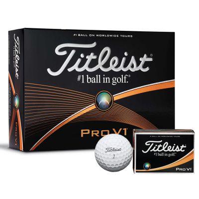 GBTPROV1 Titleist ProV1 Logo Golf Balls
