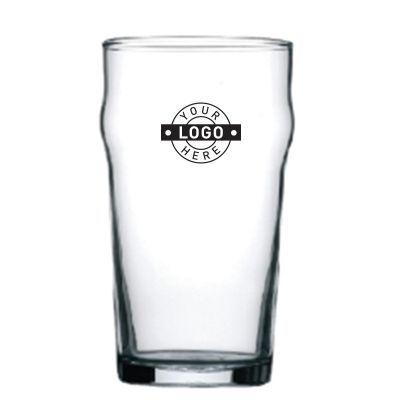GLBGG9881 570ml Printed Nonic Tempered Logo Beer Glasses
