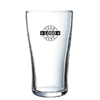 GLBGH3185 425ml Custom Printed Ultimate Tempered HB Beer Glasses