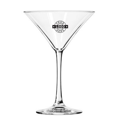 GLCLB7512 237ml Custom Logo Vina Martini Glasses