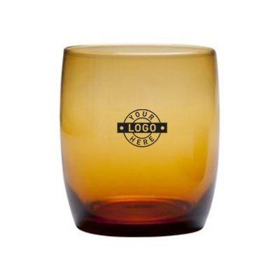 GLTGL1315.1 443ml Gala Bar Amber Rocks Glasses