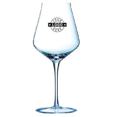 GLWGN1738 500ml Custom Printed Reveal'Up Stem Wine Glasses