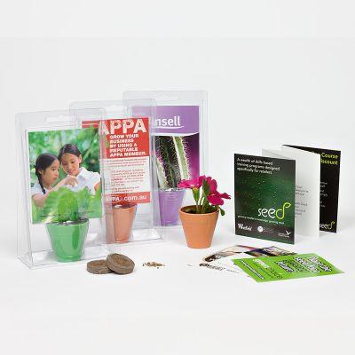 GPK Growpack Custom Grow Kits - With Seed Satchets
