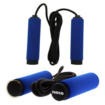 H120 Classic Branded Skipping Ropes With Cushioned EVA Foam Handles