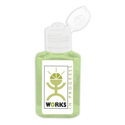 H306 30ml Unscented Squeeze Logo Sanitiser