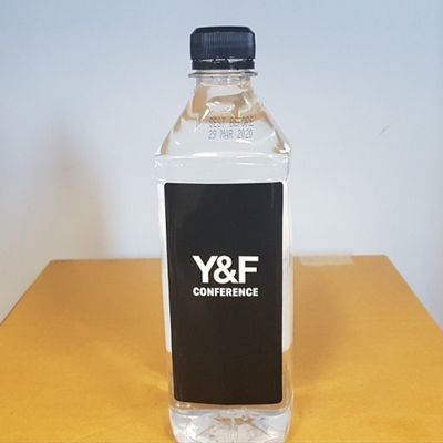 H8-S6 Square Advertising Bottled Water - Eastern States Only - 600ml