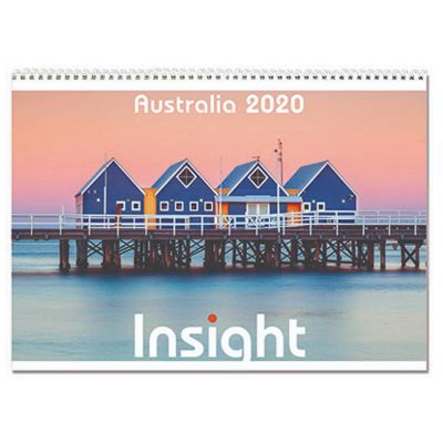 IN19 13 Pages Branded Desk Calendars - Insight Australia
