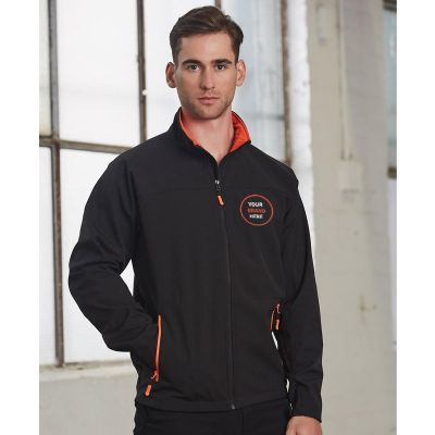 JK15 Rosewell Branded Softshell Jackets With Stretch