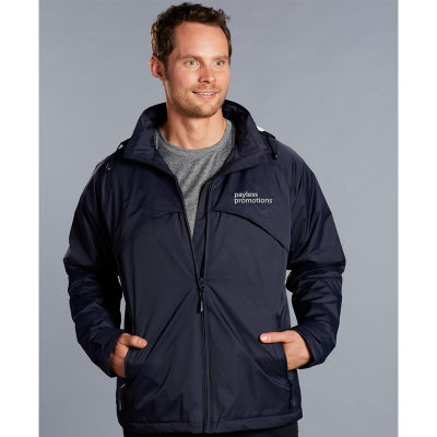 JK27 Chalet Team Casual Jackets With Concealed Hood