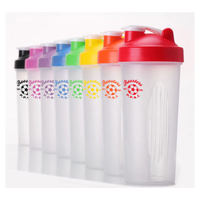 JM027L 600ml Promotional Protein Shakers With Mixer