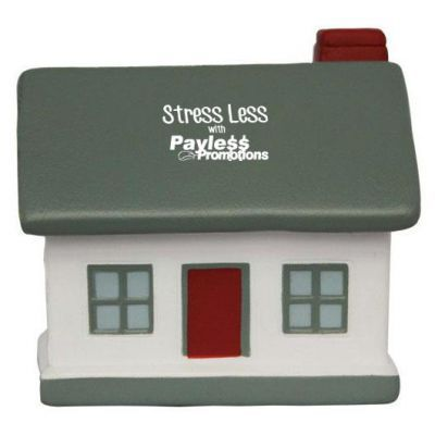 S40 House/Grey Roof Branded Household Stress Balls