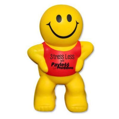 S52 Little Man Promotional People Stress Shapes