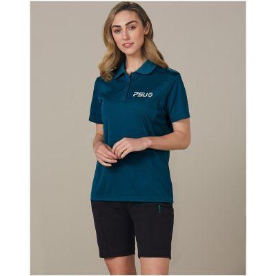 M9442 Ladies Utility Cargo Logo Work Wear Shorts With Stretch