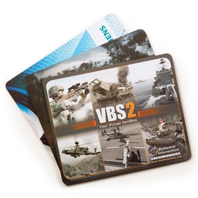 MM101A Budget (230 x 190mm) Promotional Mouse Pads