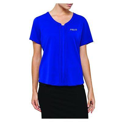 PCKS386 Ladies Pierre Cardin V-Neck Personalised Ladies Blouses