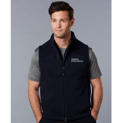 PF09 Deluxe Bonded Embroidered Polar Fleece Vests