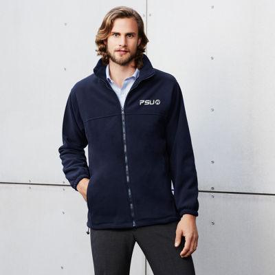 PF630 Plain Branded Polar Fleece Jackets