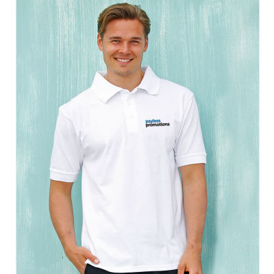 PS22 Tight-Knit Poly/Cotton Custom Polo Shirts