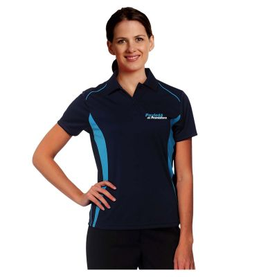 PS80 Ladies Pursuit CoolDry Branded Polo Shirts