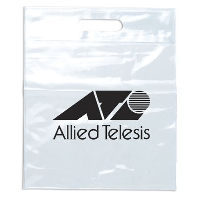 RB1032 Clear Hand Printed Shopping Bags - (31cm x 37.5cm)