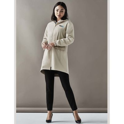 RC971L Ladies Celeste Embroidered Overcoats With Hood
