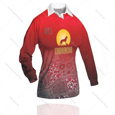 RT1-L Ladies Full-Custom Sublimation Rugby Jumpers