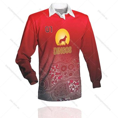 RT1-M Full-Custom Sublimation Rugby Jumpers
