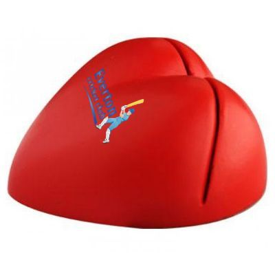 S122 Heart Promotional Paper Holder Stress Balls