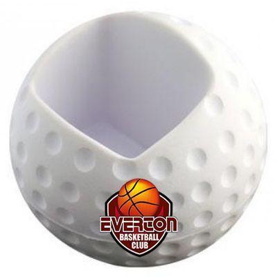 S132 Golf Promotional Mobile Phone Holder Stress Balls