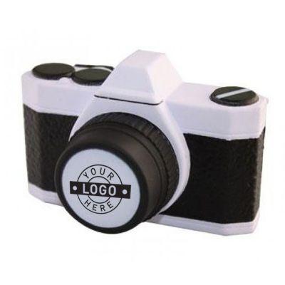 S166 Camera Printed Travel Stress Balls